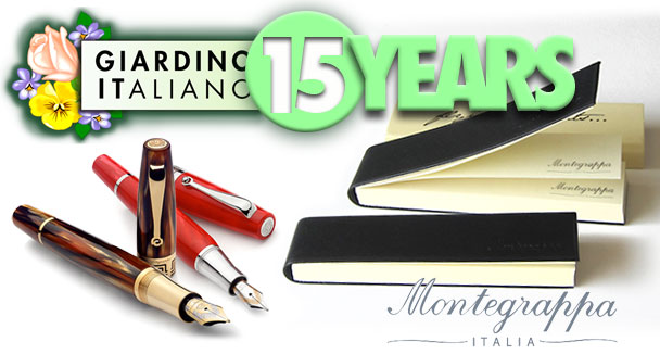 Gifts by Montegrappa in September on Giardino Italiano