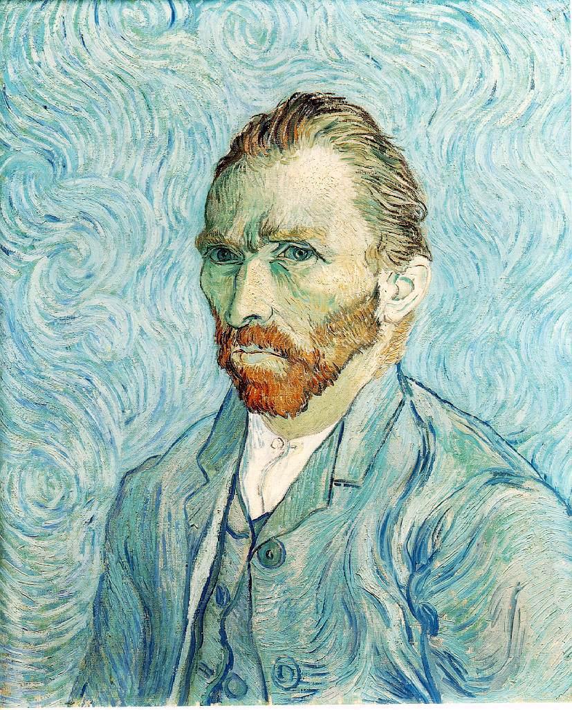 Van Gogh - Portrait Blue