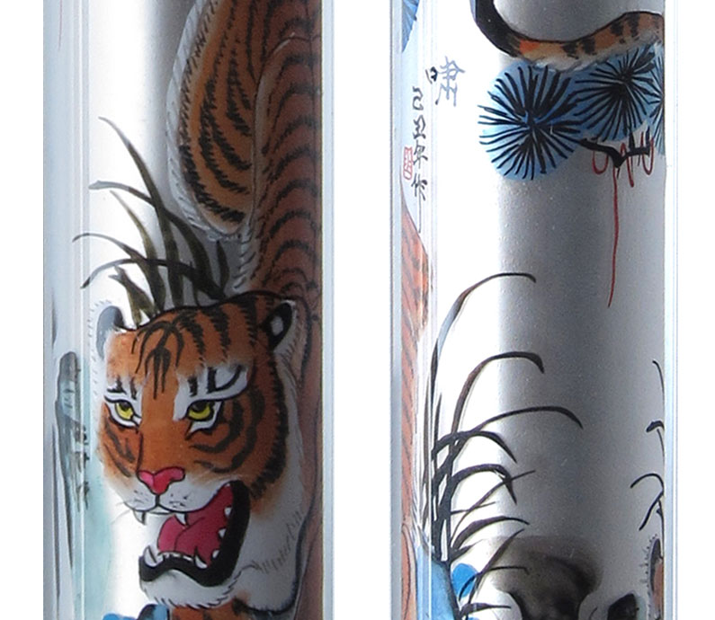 Particolari pittura Tigre