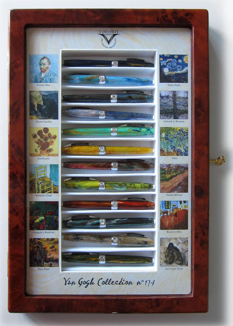 Van Gogh 12 cabinet