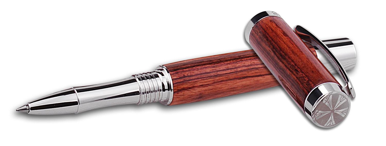 Torino pen in cocobolo wood