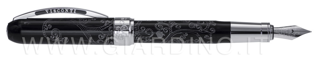 Eden Black fountain pen