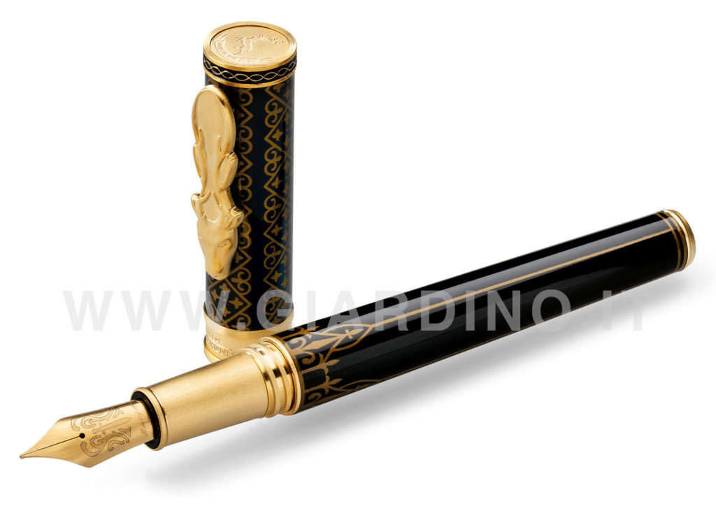 Game of Thrones Baratheon black fountain pen